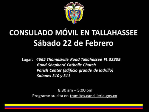 consulado colombia movil tallahassee